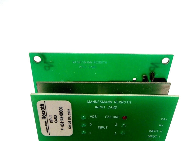 Mannesmann Rexroth P-031149-00000 24V 15 Total Input Card 5460517102 - Maverick Industrial Sales