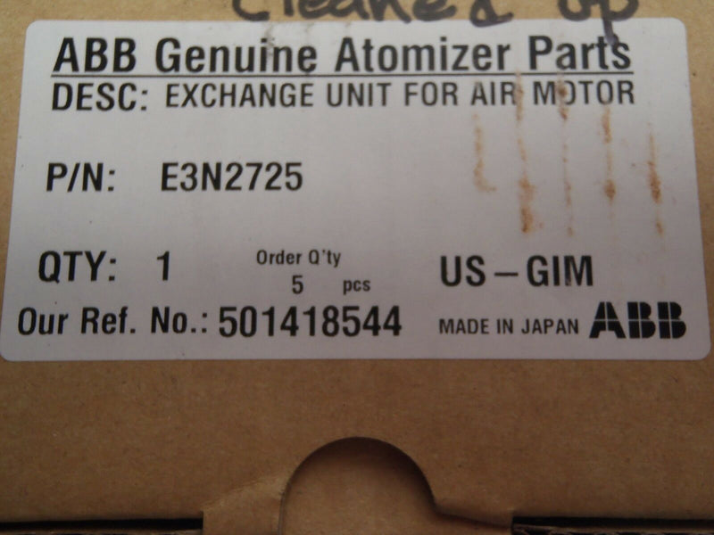 ABB E3N2725 Exchange Unit for Air Motor - Maverick Industrial Sales
