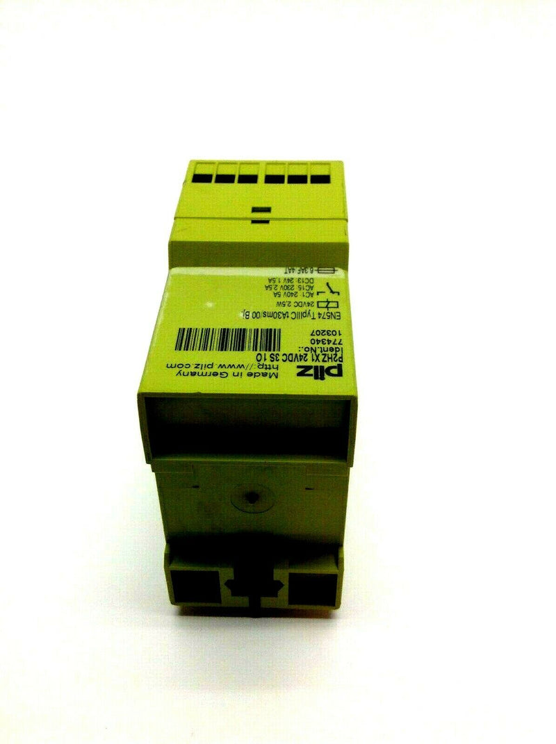 Pilz P2HZ x1 24VDC 3S 1O 774340 Safety Relay 24VDC 2.5W - Maverick Industrial Sales