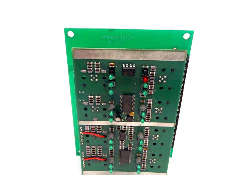 Mannesmann Rexroth QSFDE 2472200 24V 8 Input Card 5460517102 Missing Top Board - Maverick Industrial Sales