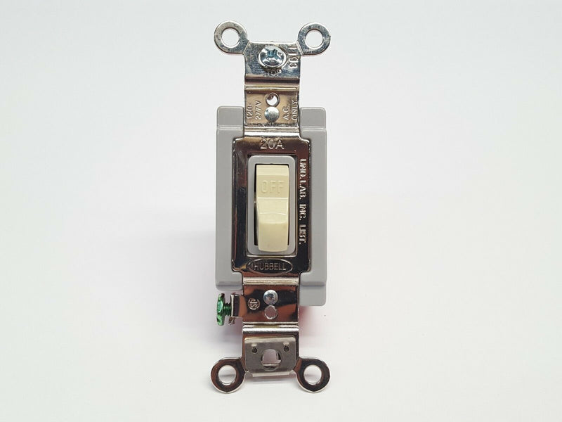 Hubbell HBL1222I Double Pole 20A 120/277V AC Light Switch - Maverick Industrial Sales