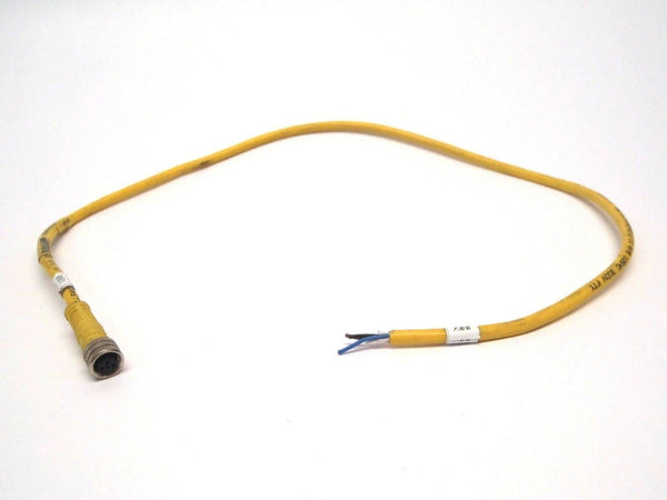 Balluff C49ANE00VY050M 3 Pin Cable Connector To Flying Leads - Maverick Industrial Sales