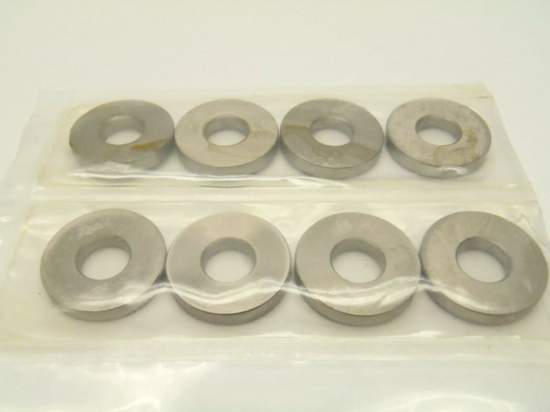Misumi WASM20-8-3 Carbon Steel Washers 20mm x 8mm x 3mm Lot of 8 - Maverick Industrial Sales