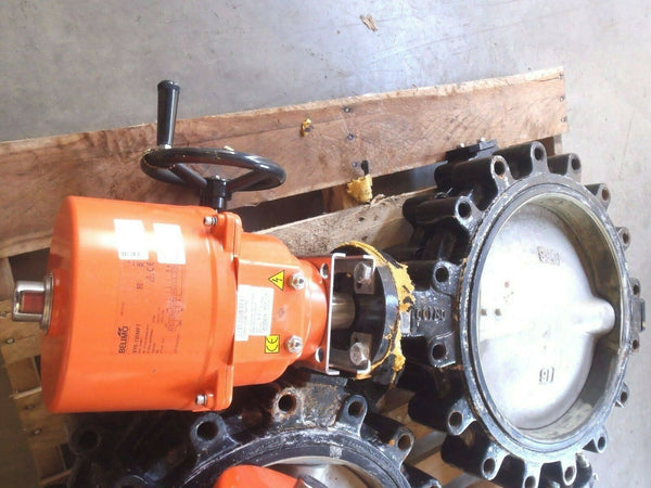 Belimo F6400HD+SY6-120MFT 2 Way Butterfly Valve and Actuator - Maverick Industrial Sales