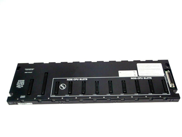 GE Fanuc IC693CHS391M 1 CPU 10 Slot PLC Module Base EMI Enhanced - Maverick Industrial Sales