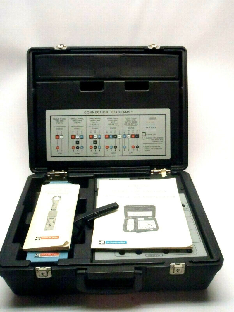 Esterline Angus PMT Power Master IIIB AC Multimeter Motor Load Surveyor Kit - Maverick Industrial Sales