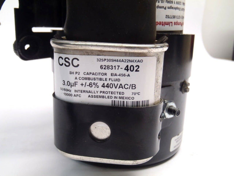 A.O. Smith JF1J6804N 220/240V 50/60Hz 2700/3200RPM Electric Motor - Maverick Industrial Sales