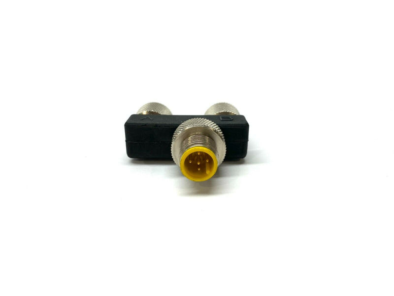 Lumberg Automation ASBS 2 M12-S2325 Sensor Splitter, Y - Style, 5 Position - Maverick Industrial Sales