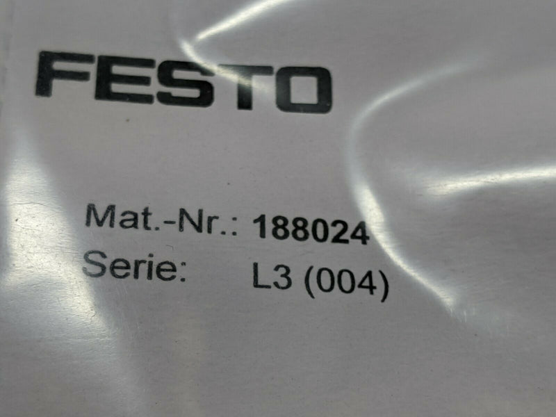 Festo MSSD-EB-M12-MONO Plug Connector Socket M12 188024 - Maverick Industrial Sales
