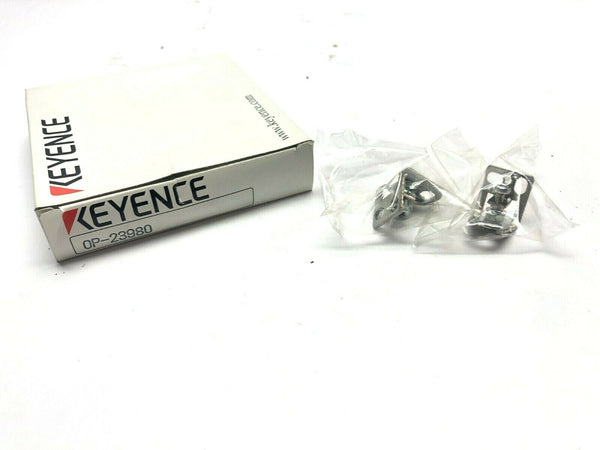 Keyence OP-23980 Mounting Bracket For FS-L50 FU-10 - Maverick Industrial Sales