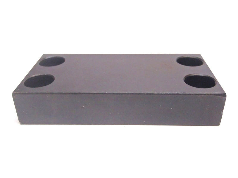 "Northwestern Tools JRP-14 Steel Clamp Rest Pad 4x2x3/4"" Four Hole - Maverick Industrial Sales"