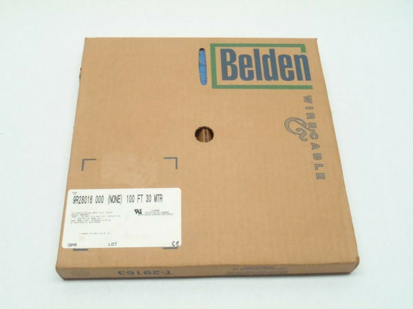 Belden 9R28016 000 Rainbow Ribbon Flat Wire Cable 100Ft 30M 28AWG 7x36 Strand - Maverick Industrial Sales