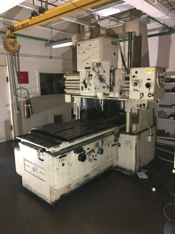 SIP Hydroptic-6 Jig Boring Machine, Societe Genevoise Hydr-6, No 223 - Maverick Industrial Sales