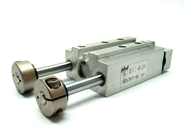 PHD SAL1 10 X 1 -AE-J3-M-Z1 Pneumatic Guided Slide Cylinder - Maverick Industrial Sales