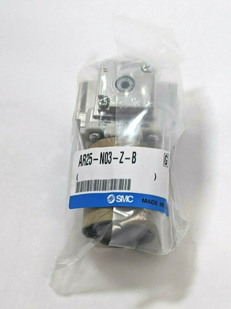 SMC AR25-N03-Z-B Modular Pneumatic Regulator AR Mass Pro 3/8 NPT - Maverick Industrial Sales
