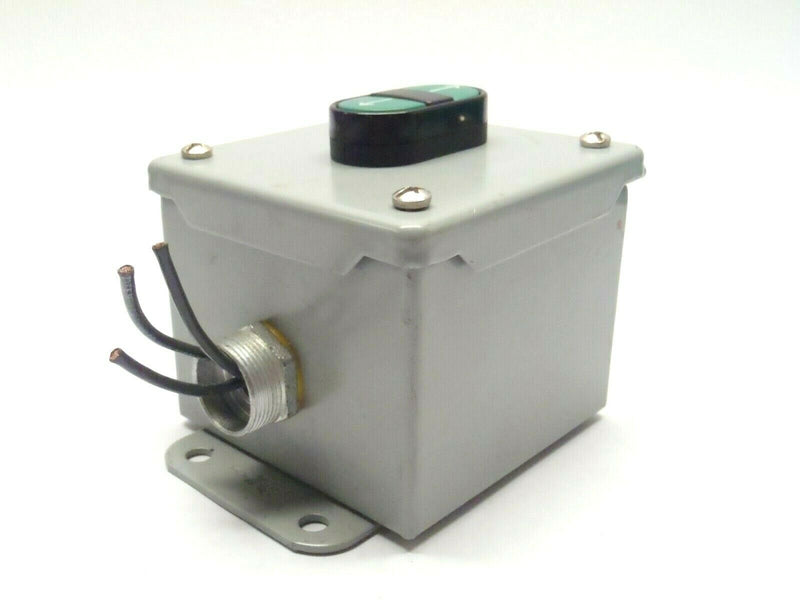 Hoffman A4048C Enclosure w/ BMI 092A030B250AC1A A-B 800F-X10 Push Button Control - Maverick Industrial Sales