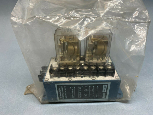 International Electrodynamics TR15-202 Terminal Relay - Maverick Industrial Sales