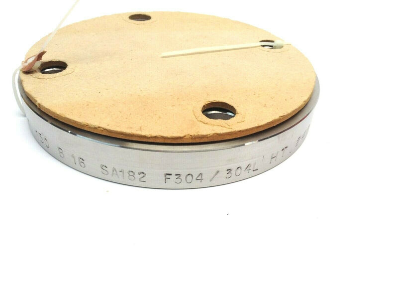 Pipe Flange Blind Raised Face 2 Inch 150 LBS SS B 16 SA182 F304/304L HT. 248300 - Maverick Industrial Sales