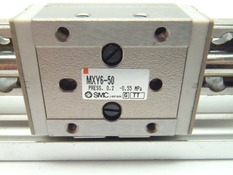SMC MXY6-50 Compact Slide Table 6mm Bore 50mm Stroke - Maverick Industrial Sales