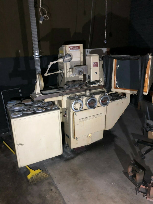 Brown & Sharpe 618 Micromaster Surface Grinding Machine, Wheel Grinder - Maverick Industrial Sales