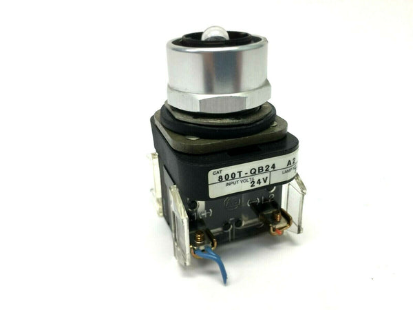 Allen Bradley 800T-QBT24 A2 SER T 24V Pushbutton Lamp - Maverick Industrial Sales