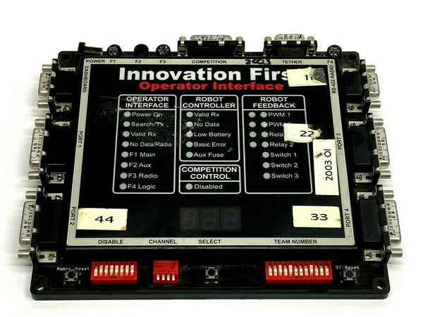 Innovation First 926000992 FR01 Control Operator Interface Robot Controller - Maverick Industrial Sales