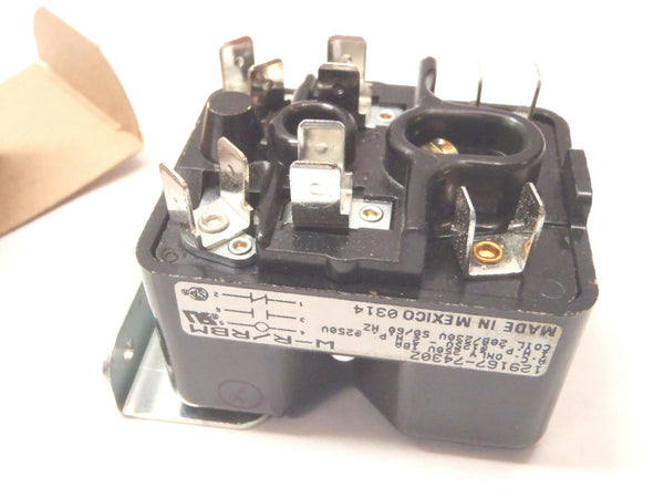 White Rogers 129167-7430Z RELAY 250VAC 18A COIL 208/230V 50/60HZ Essex - Maverick Industrial Sales