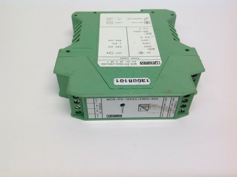 Phoenix Contact MCR-PS-120AC/24DC/650 Power Supply 2811967 - Maverick Industrial Sales