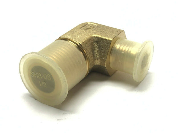 "Parker 6-8 CTX-B Male Elbow Adapter NPT 1/2"" and 9/16"" - Maverick Industrial Sales"