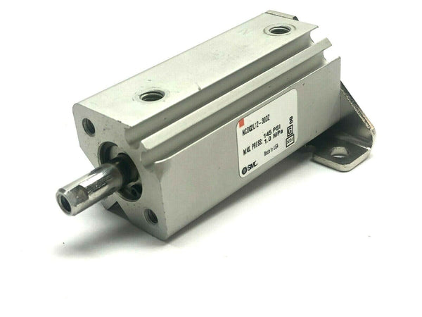 SMC NCDQ2L12-30DZ 6814073 Pneumatic Base Cylinder 145 Psi MISSING BRACKET - Maverick Industrial Sales