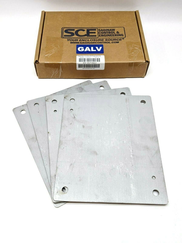 "Saginaw SCE-14DLP12GALV Sub Panel 9"" x 11"" Inches, 1/8"" Thick PKG OF 4 - Maverick Industrial Sales"