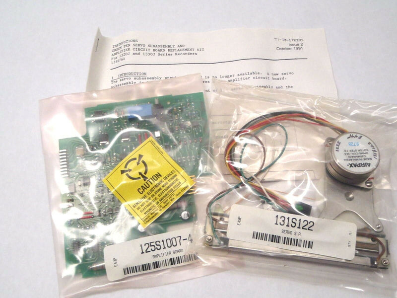 DWYER 155S764 1320J/1330J GREEN PEN SERVO ASSEMBLY & AMPLIFIER CIRCUIT BOARD - Maverick Industrial Sales