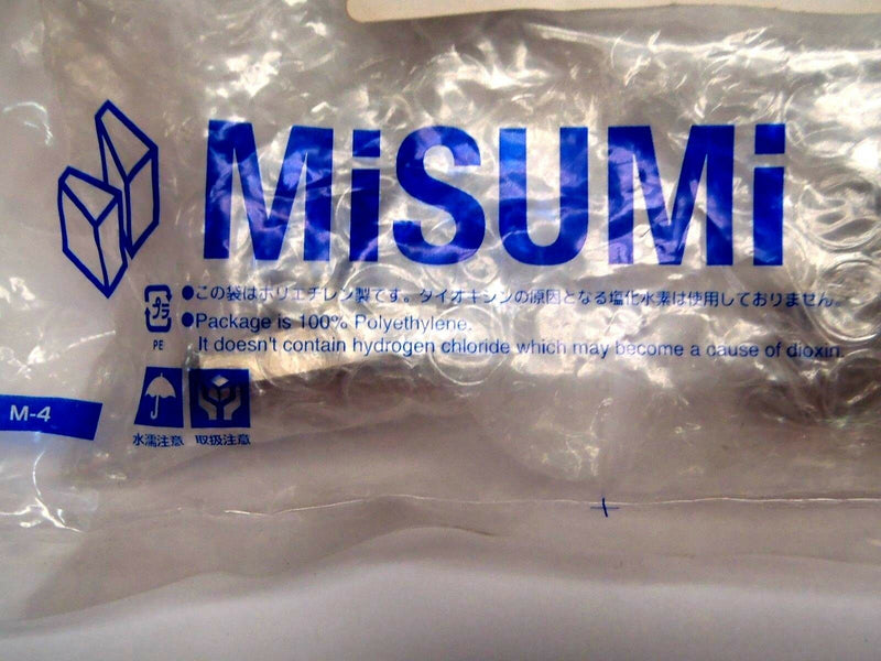 Misumi MFNS-S10 Flanged Oil Free Bushing 10mm ID 32mm L 1018 Carbon Steel - Maverick Industrial Sales