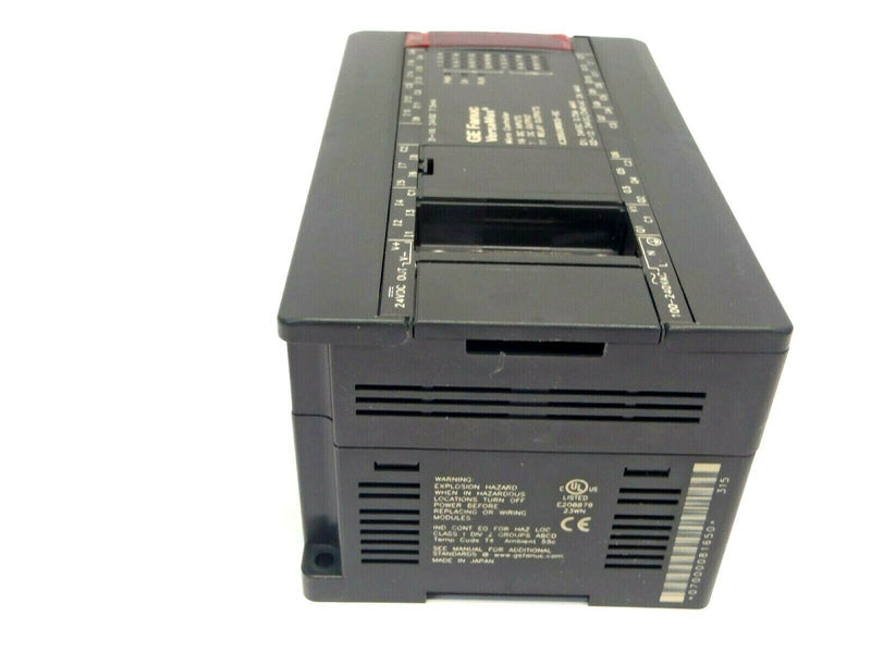 GE Fanuc IC200UDR005-BC VersaMax Micro Controller 16 DC Inputs 11 Relay Outputs - Maverick Industrial Sales