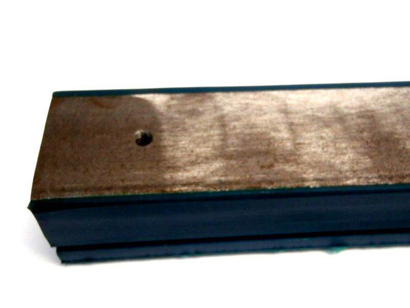 "Industrial Cushion Systems UNI-202024-60 2""x2""x3/8""X1-3/4"" 60"" Blue Rest Block - Maverick Industrial Sales"