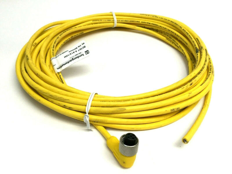Lumberg Automation RKWT 5-612/10M Right Angle 5 Pole Cordset 600000449 - Maverick Industrial Sales