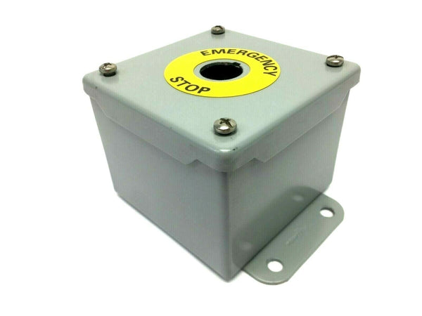 "Hoffman A4048C Pushbutton Enclosure 4"" x 3"" x 3"""