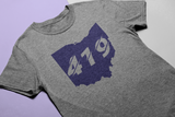 419 Cutout Shortsleeve Tee (multiple color options)