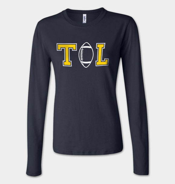 Women's TOL Football Long Sleeve Jersey Tee