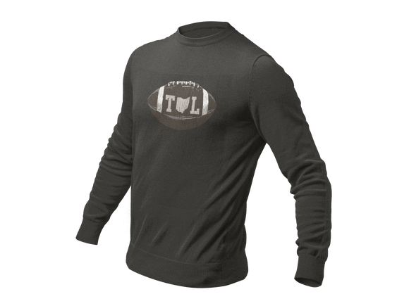 TOL Football Long Sleeve Tonal Black