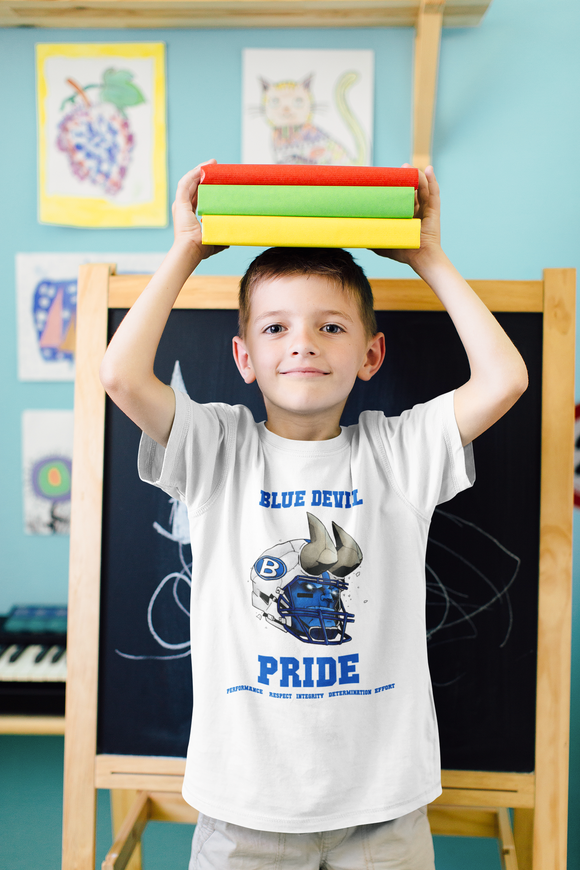 Youth - Blue Devil Pride Triblend Short-sleeve T-shirt
