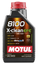Motul 1L 8100 X-Clean EFE Engine Oil 5W30