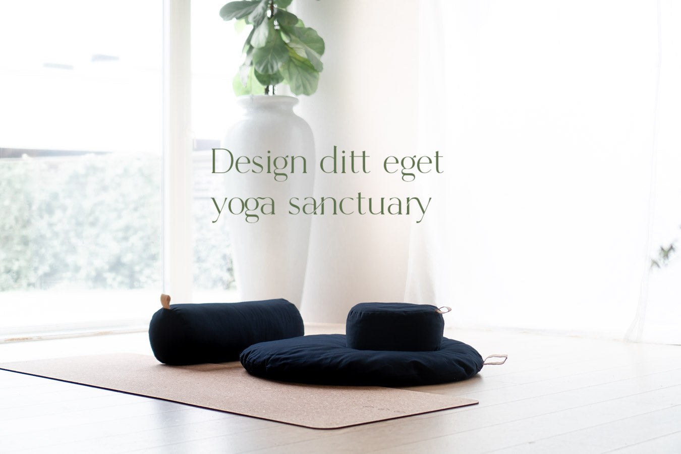 The Cloud - Yoga Bolster - Midnatt Blå