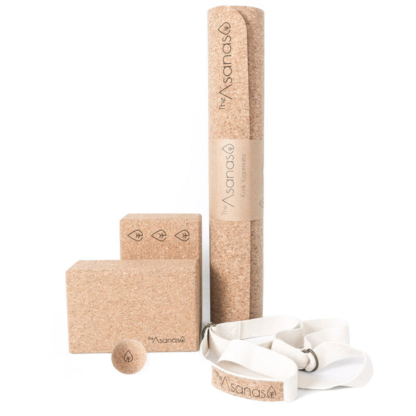 -20% Kork Yoga Essentials Sett
