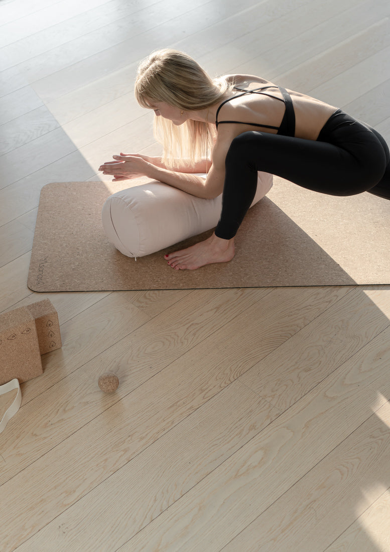 The Cloud - Yoga Bolster - Pudder Rosa