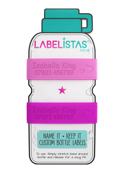 Labelistas Personalised Bottle and Cup Labels