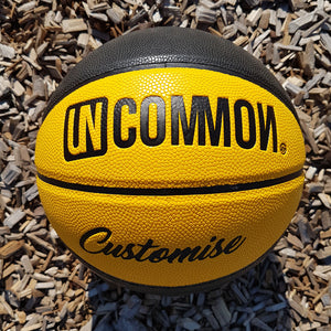 "Custom ""UNCOMMON"" Basketballs"