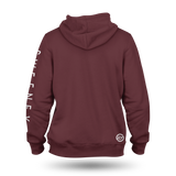 We Ride Hoodie - Maroon/Gold