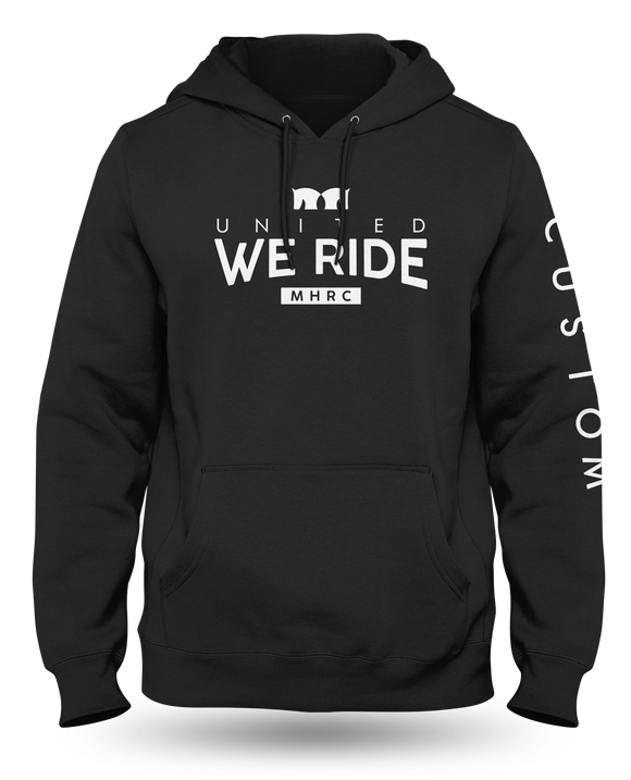 United We Ride Hoodie - Black