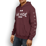 United We Ride Hoodie - Maroon
